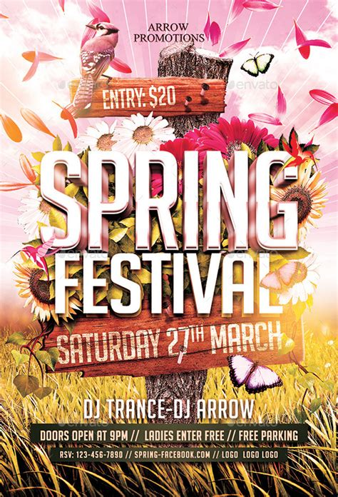 Festival Template Festival Flyer Template By Arrow3000 Graphicriver