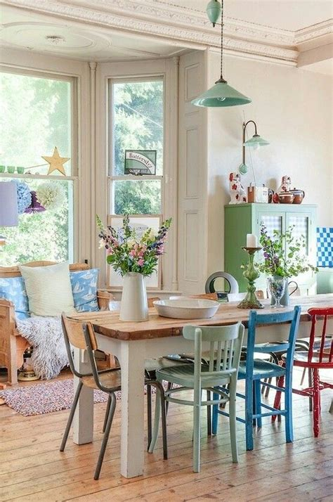 Coloured Dining Tables And Chairs How To Mix Match Dining Chairs Tidbits Twine