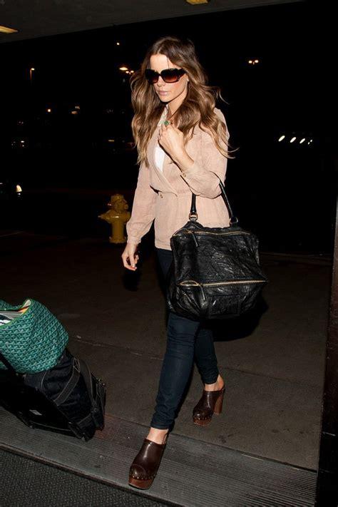 Kate Beckinsales Prada Purse by Kate Beckinsale Leather Tote Kate Beckinsale Looks