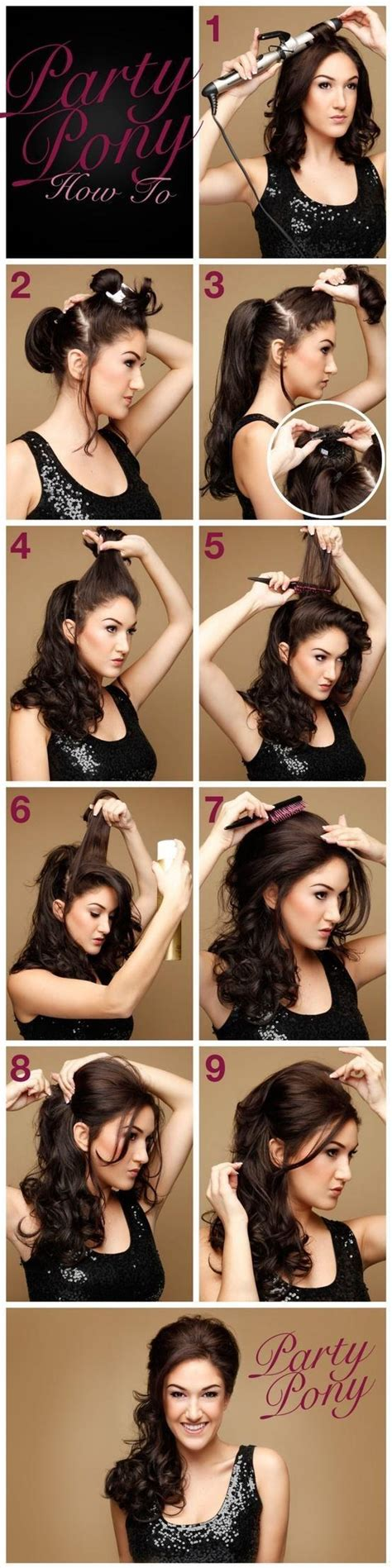 hairstyles for house party more hairstyles you can do at home hidden scrunchy guff