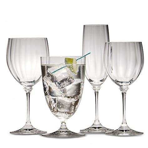 mikasa 174 stephanie crystal stemware and barware