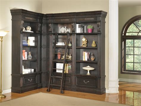 furniture white l shaped corner wall bookcase with
