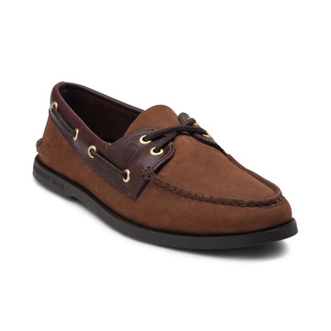 topsider shoes for mens sperry top sider authentic original boat shoe brown