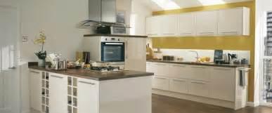 Cream Gloss Kitchen Ideas S And J Kitchen Designs