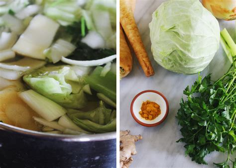 Vegetable Broth Detox Diet by Detox Vegetable Broth With Turmeric And Parsnips
