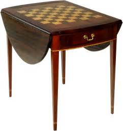 Gaming Chair For Sale Inlaid Game Tables Federal Pembroke Gaming Table