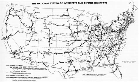 black and white us road map file interstate highway status unknown date jpg