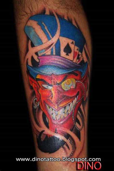 blue devil tattoo images designs
