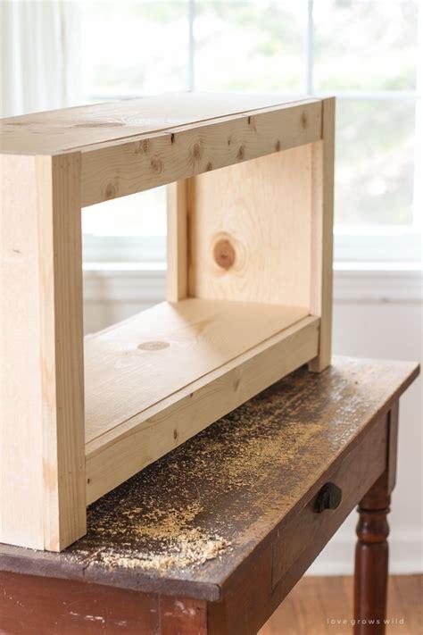 diy entryway bench  storage tutorial lovegrowswild