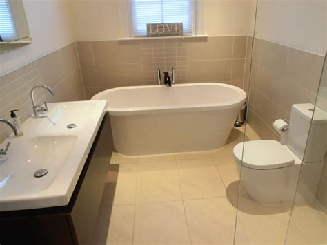half tiled bathroom ideas customer testimonials case studies from alderwood fitted