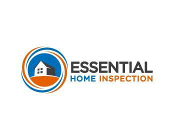 essential home inspections logo design contest logo