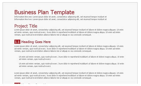 business plan template score free business plan template doc bloomgett