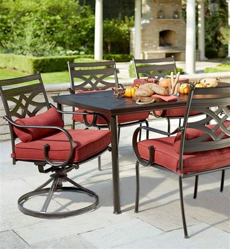 Hton Bay Belleville 7 Piece Patio Dining Set Pickup Fall River 7 Patio Dining Set