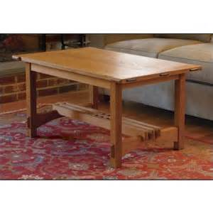 Arts And Crafts Coffee Table Plans Arts And Crafts Coffee Table Plan Woodworking Plans