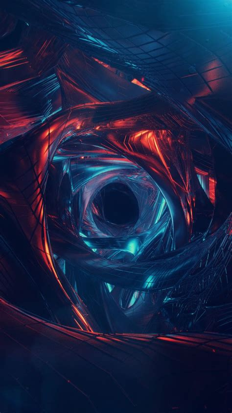 abstract wormhole art visualization wallpapers hd