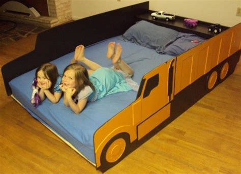 dump truck toddler bed kids room or boys room a truck bed a dump truck full