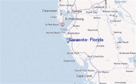 where is sarasota florida located on the map sarasota florida tide station location guide