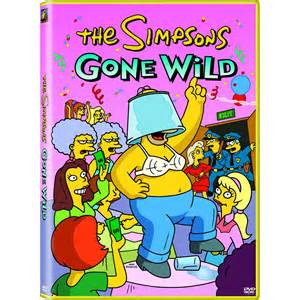 The simpsons gone wild dvd fox shop