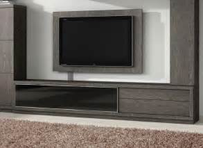modern tv unit 2 drawer and glass door modern tv unit by baixmoduls