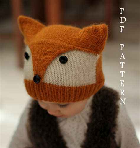 Knitting Pattern Foxy Wolfie Toddler Child By