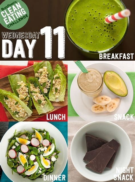 Buzzfeed Detox Plan by Day 11 Of The Clean Challenge