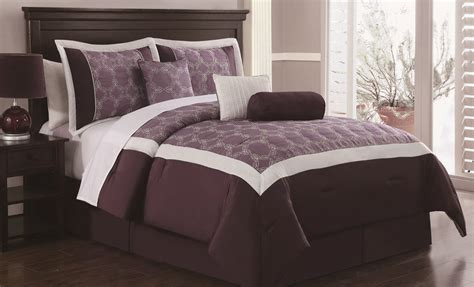 best 28 plum king comforter set piedmont plum 7 pc
