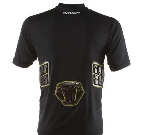 Sr 2598 Black bauer 37 5 elite padded performance s s shirt sr sports