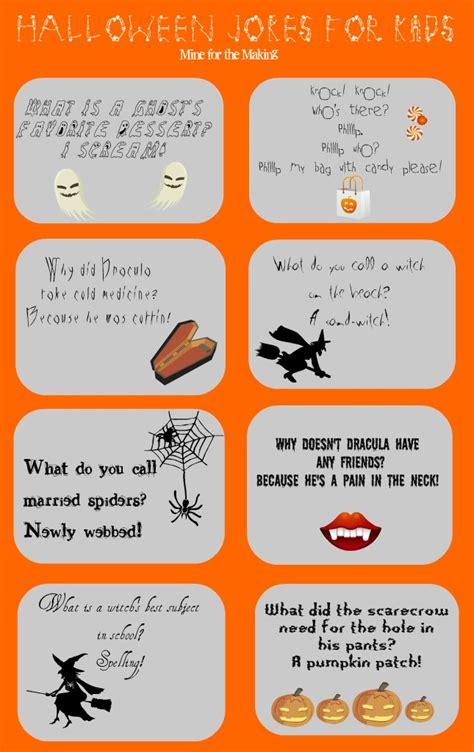 printable halloween jokes and riddles halloween jokes for kids printable mine for the making