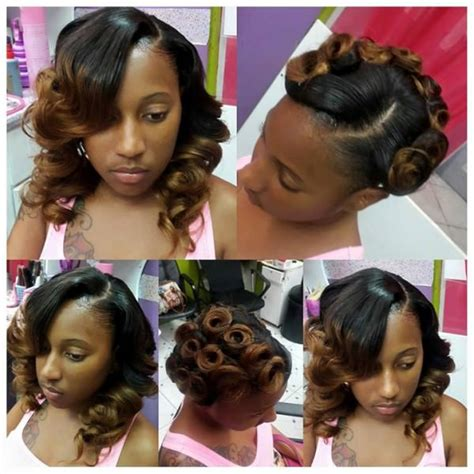 cute pin up hairstyles for black women cute pin up on weave chiney sfinesse black hair information