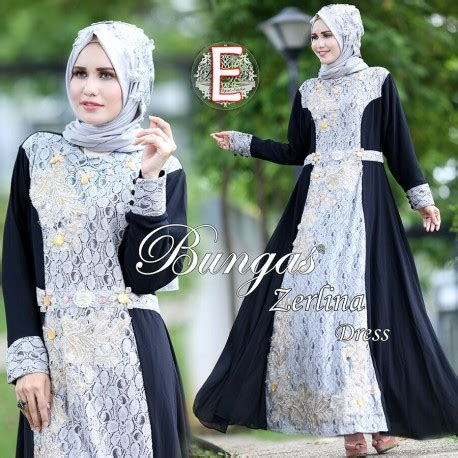 Zerlina By Bungas gamis cantik gaun pesta muslim pusat busana gaun pesta