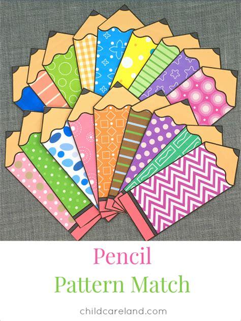 pattern matching kindergarten blog archives