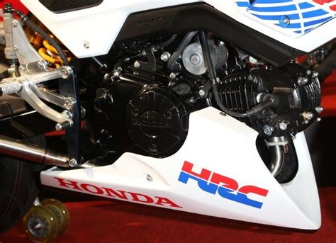 honda racing parts new honda grom msx125sf race bike built by hrc osaka