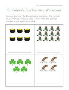 st s day counting practice worksheet