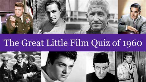 film entertainment quiz the great little film quiz of 1960 spring chicken