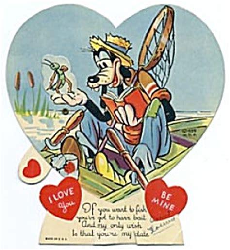 goofy valentines vintage walt disney goofy mickey mouse