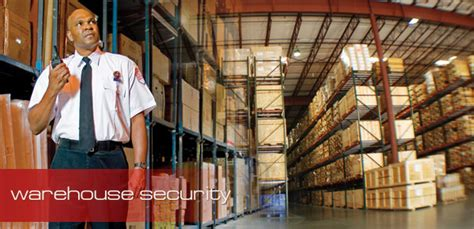 warehouse security security guards