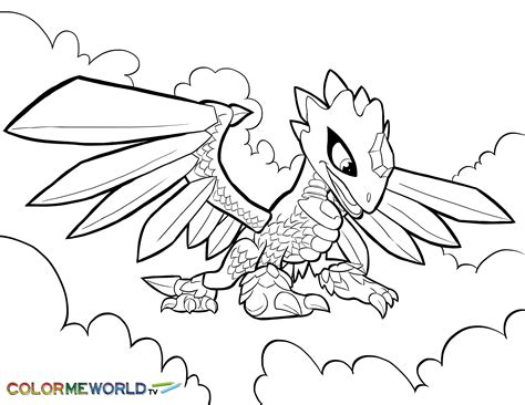skylanders coloring pages download skylanders flashwing coloring page flashwing free color
