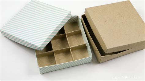 How To Make Paper Dividers - 9 section origami box divider paper kawaii