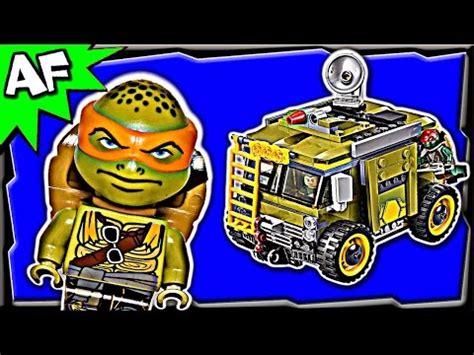 big rig snow getaway 79116 lego tmnt mutant