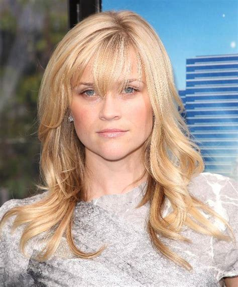 How To Cut Reese Witherspoon Bangs | how to cut bangs