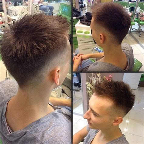 boys cool faded fohawk haircut 50 coolest faux hawk hairstyles for men hairstylec