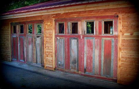 Wilson Overhead Door Wilson Creek Furniture Our Barn Wood Siding Garage Doors Barn Wood Siding