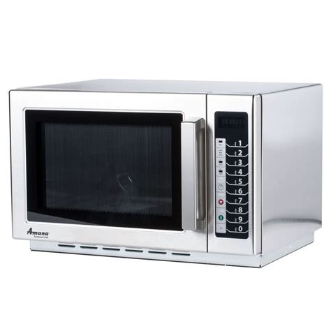 Microwave Oven amana rcs10ts stackable commercial microwave with push