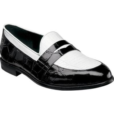 black white loafers black and white leather loafers serafino