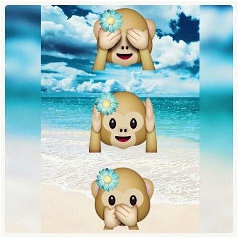 tattoo affen emoji affen emojis mit blumen am strand cool pinterest