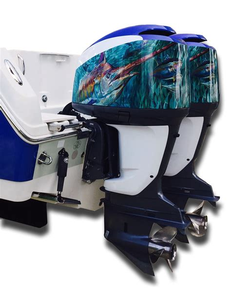 custom boat engine decals jason mathias boat wrap designs