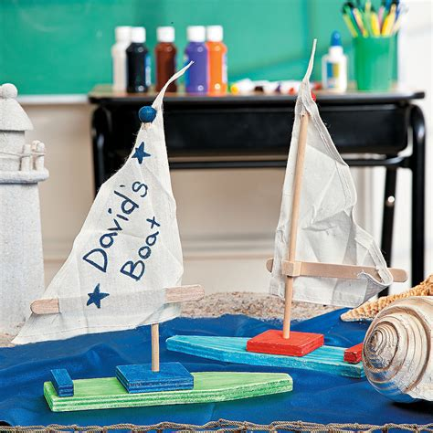 sailboat project diy sailboat project idea oriental trading