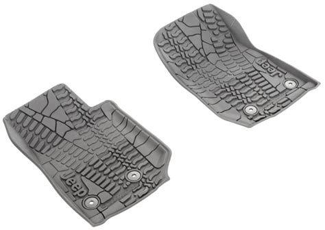 Slush Mats For Jeep Wrangler by All Things Jeep Mopar Jeep Front Slush Mats For Jeep