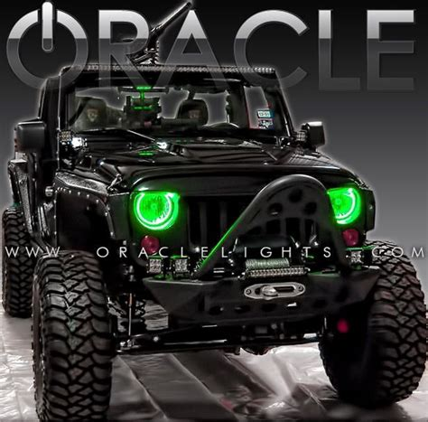 jk oracle halo kit many colors available color shift