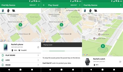 locate my android phone android device manager has a new name find my device
